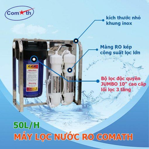 Máy lọc nước RO 50L 4